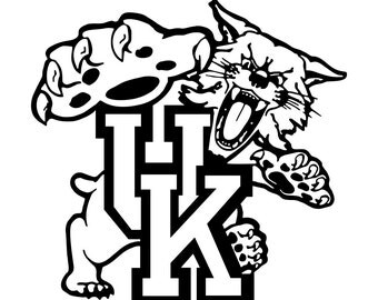 coloring pages for adults uk basketball | university of kentucky svg – Etsy