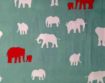 The Herd in Pool by Birch Fabrics