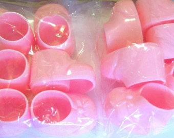 Pink Baby Bootie Baby Shower Decor - Cake Decor - Baby Shower Decor - Baking Decor