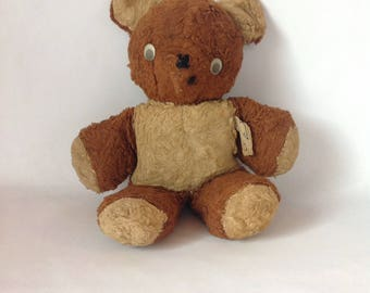 Vintage Gund Stuffed Collectible Bear 1940's