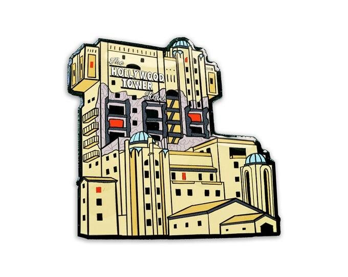 Terrifying Tower Pin