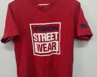 Vintage VISION STREET WEAR Tshirt Size M