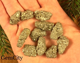 Fools Gold Pyrite  - 4 Troy Ounces - Fools Gold Nugget, Pyrite Nuggests, Miner 49er GemCity