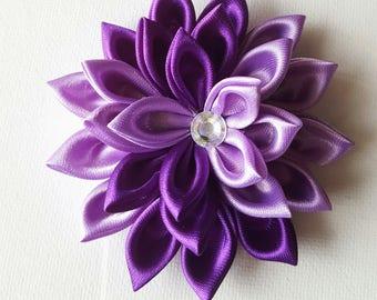 Purple Flower Hair Clip - Purple Hair Clip - Hair Flower - Purple Hair Flower - Easter Hair Clip - Hair Clip - Flower Accessories