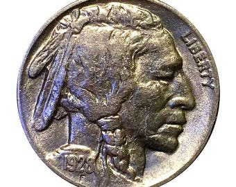 1928 P Buffalo Nickel - AU / Almost Uncirculated