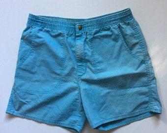 Vintage OP shorts 80's Men's blue shorts small medium Ocean Pacific 31 Small Medium