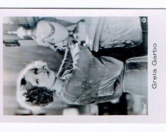 Vintage Greta Garbo 1931 Jasmatzi Ramses Cigarette Card #14 RARE
