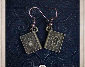 BIBLES earrings bronze BOB054
