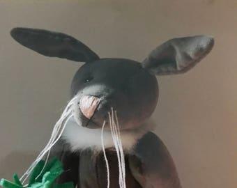 Gemini Bears Rare Lettice & Carrot bunny pattern from New Zealand