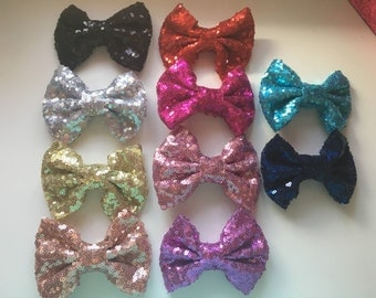 Sequined bows