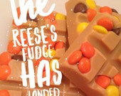Reese's Pieces Peanut Butter Fudge