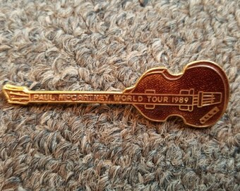 Paul McCartney World Tour 1989 pins