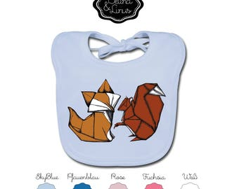 "Organic cotton bibs ""Belina and Linus"""