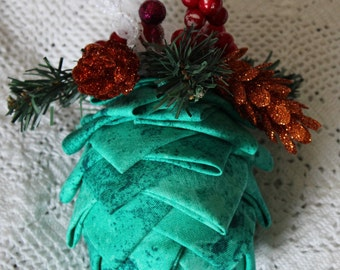 Hand Crafted Pine-cone Ornament