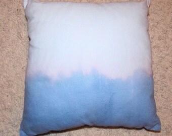 Blue Dip Dye/Bleach