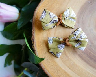Twist bow pigtail set