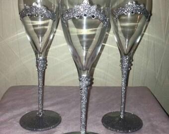 Tiara Champagne Glass