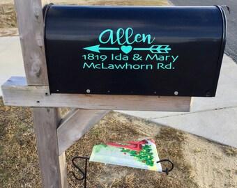 Customized Mailbox Decal