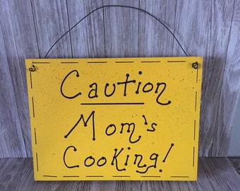 Mom's & Dads Cooking Signs