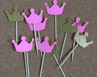 Crown Cupcake Topper