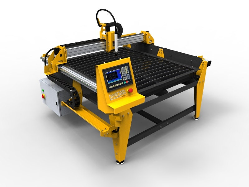 1250mm X 1250mm 4x4 Feet Cnc Plasma Table Diy Plans From