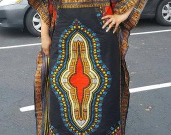 Handmade african dashiki dress