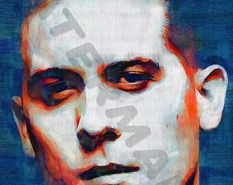 G-Eazy Art Print - Rapper Oil Painting Poster  LFF0048