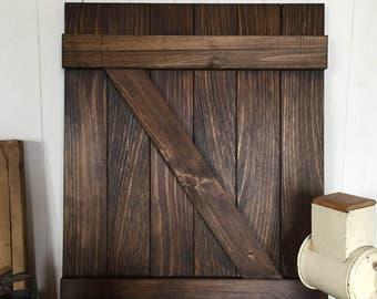 Barn Door, Home Decor, Wooden Sign, Rustic Wall Decor, Farmhouse Decor
