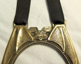 Bronze photo frame on Petersham ribbon