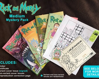 Rick and Morty ( Medium Mystery Pack )