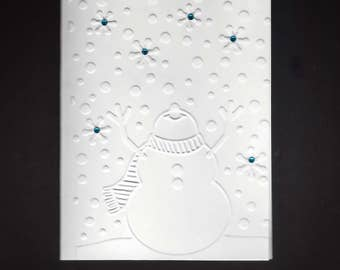 Set of 5 Snowman CLASSIC Winter Cards
