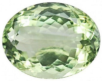 Natural Prasiolite Green Amethyst. Amazing Green Prasiolite Without Treatment!!! 14.09 ct. Loose gemstones