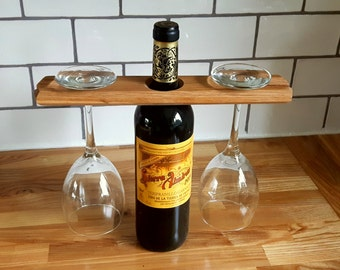 Oak Wine Caddy