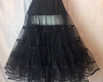 234. VINTAGE- Tulle Skirt