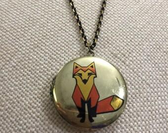 Fox locket