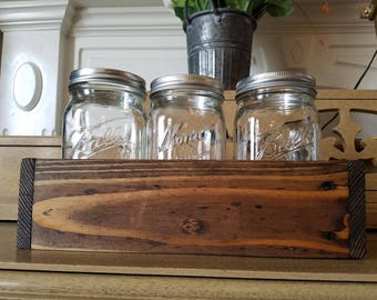Handmade Reclaimed Wood Container