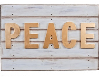 Painted Peace Wall Art