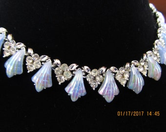 Signed CORO MOONSTONE NECKLACE