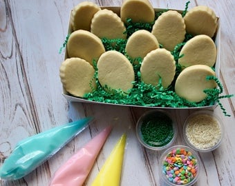 Easter Egg Sugar Cookie Decorating Kit