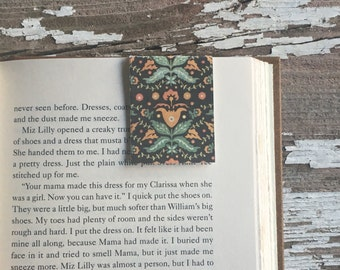 Magnet Bookmark, Colorful Design | Book Accessory