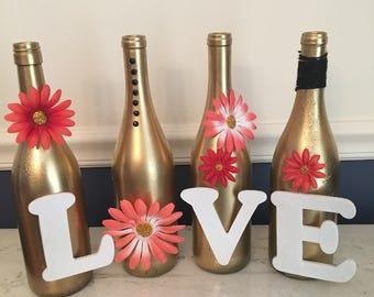 love wine bottles | etsy