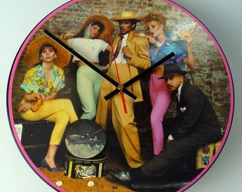 "Kid Creole & The Coconuts - Tropical Gangsters 12"" Picture Disc record Clock"