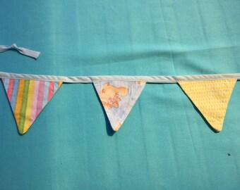 Mini flag baby bunting