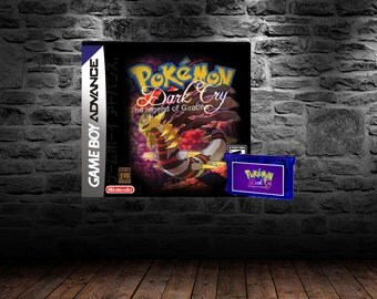 Pokemon Dark Cry Legend of Giratina - Giratina's Origins - GBA - Pokemon Fire Red