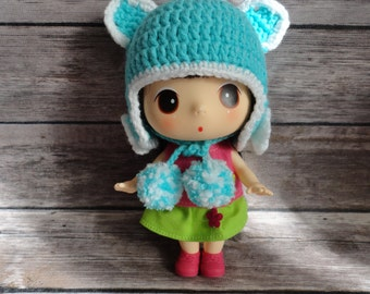 Blythe Hat/Ddung Hat/Doll Hat/ Handmade Crochet Hat for Doll and Baby Super Cute and Adorable Gift Idea