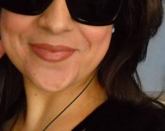 vintage versace oversized sunglasses