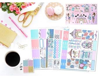 CANDIES & CARNIVALS || Full Kits || 6 sheets + 1 deco sheet