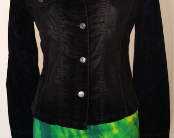 Women's Velvet Jacket Black G. S