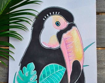 Tropical Toucan Print
