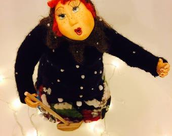 Art doll Snowfall